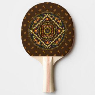 Raquette De Ping Pong Palette de ping-pong d'icônes de thanksgiving