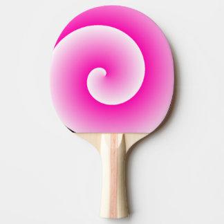 Raquette De Ping Pong Palette rose de ping-pong de remous de lucette