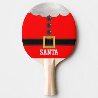 Raquette De Ping Pong Palette rouge drôle de ping-pong de vacances de