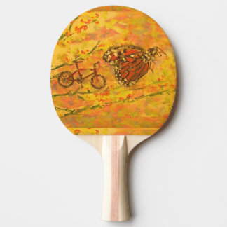 Raquette De Ping Pong papillon et bicyclette de monarque