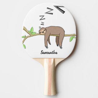 Raquette De Ping Pong Paresse de sommeil