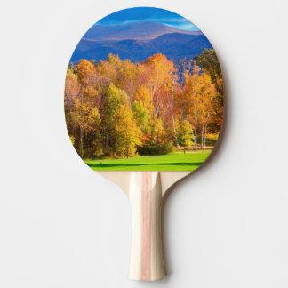 Raquette De Ping Pong Paysage au Vermont