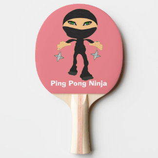 Raquette De Ping Pong Ping-pong Ninja de fille