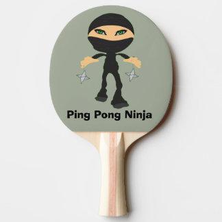 Raquette De Ping Pong Ping-pong Ninja - fille Ninja