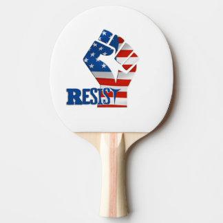 Raquette De Ping Pong Résistez à la palette de ping-pong, dos rouge en