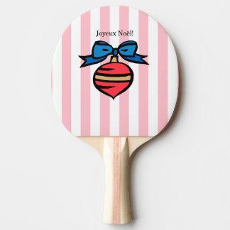 Raquette De Ping Pong Rose rouge de palette de ping-pong d'ornement de