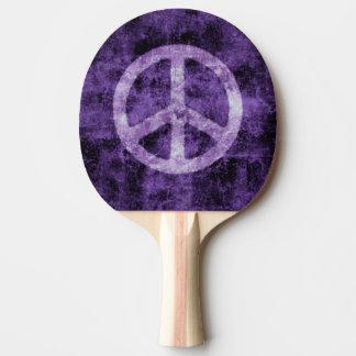 Raquette De Ping Pong Signe de paix pourpre
