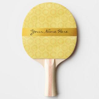 Raquette De Ping Pong Soleil fait sur commande ! Lumineux, heureux,