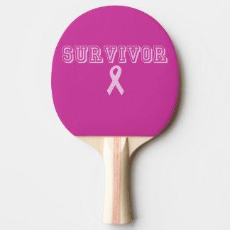 Raquette De Ping Pong Survivant rose