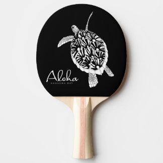 Raquette Tennis De Table Aloha tortue d'îles d'Hawaï