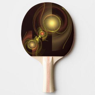 Raquette Tennis De Table Art abstrait de connexion intime