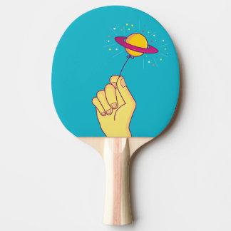 Raquette Tennis De Table Ballon de lucette de Saturn