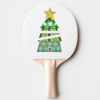 Raquette Tennis De Table Batte de ping-pong d'hôtel d'arbre de Noël