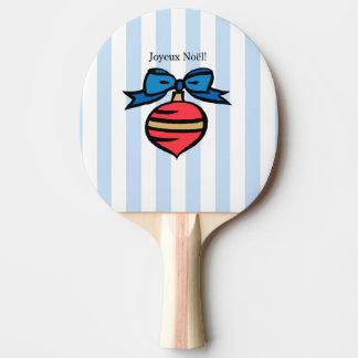 Raquette Tennis De Table Bleu rouge de palette de ping-pong d'ornement de