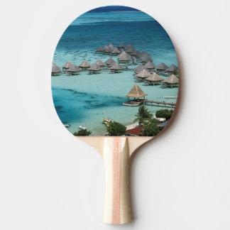 Raquette Tennis De Table Bunglows d'hôtel de vague déferlante