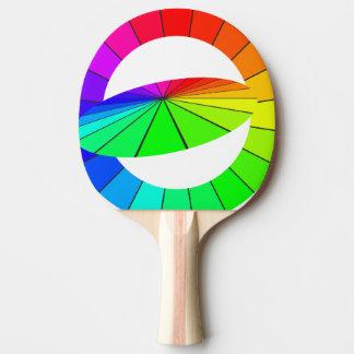 Raquette Tennis De Table Cadeaux de ping-pong d'illusion optique d'art