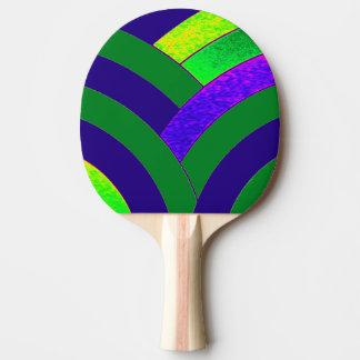 Raquette Tennis De Table chevrons élégants modernes chics