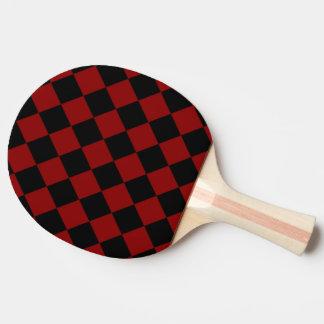 Raquette Tennis De Table Copie noire et rouge de contrôleur de diamant