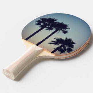 Raquette Tennis De Table Coucher du soleil de yoga