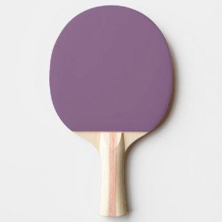 Raquette Tennis De Table Couleur solide de prune
