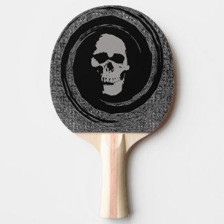 Raquette Tennis De Table Crâne dans le mouvement giratoire
