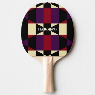 Raquette Tennis De Table Dos rouge en caoutchouc de palette de ping-pong de