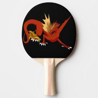 Raquette Tennis De Table Dragon rouge royal