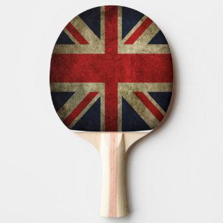 Raquette Tennis De Table Drapeau britannique d'Union Jack de ping-pong de
