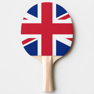 Raquette Tennis De Table Drapeau de palette de ping-pong du Royaume-Uni