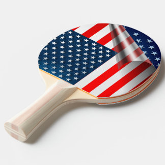 Raquette Tennis De Table Drapeau des USA