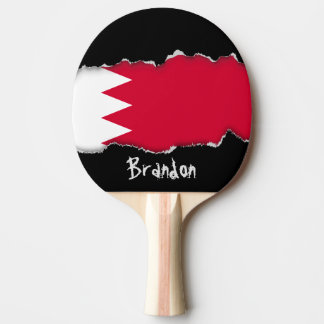 Raquette Tennis De Table Drapeau du Bahrain