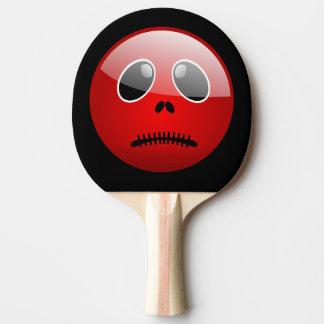 Raquette Tennis De Table Émoticône rouge d'ami de puanteur