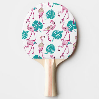 Raquette Tennis De Table Flamants roses