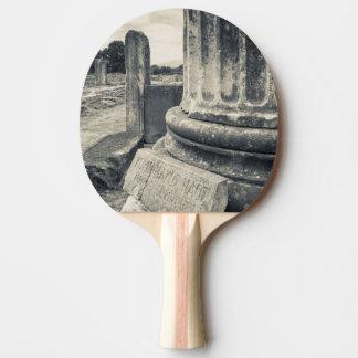 Raquette Tennis De Table La Grèce, ruines de ville antique