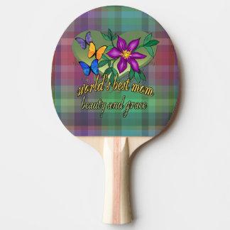 Raquette Tennis De Table La meilleures beauté et grâce de la maman du monde