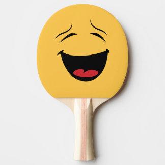 Raquette Tennis De Table Le double drôle a dégrossi chauve-souris triste
