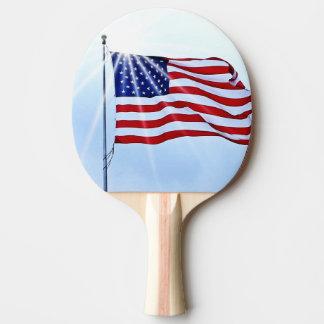 Raquette Tennis De Table Les Etats-Unis diminuent dans le vent