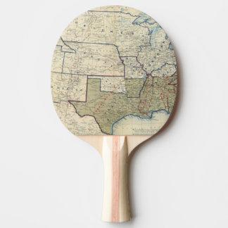 Raquette Tennis De Table Les Etats-Unis en juin 1864