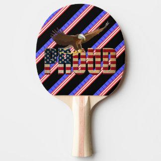 Raquette Tennis De Table Les Etats-Unis fiers