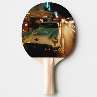 Raquette Tennis De Table Les Etats-Unis, FL, Miami, plage du sud la nuit. 2