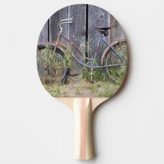 Raquette Tennis De Table Les Etats-Unis, Orégon, courbure. Un vieux vélo