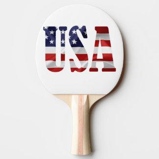 Raquette Tennis De Table Les Etats-Unis patriotiques