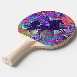 Raquette Tennis De Table LICORNE DE L'UNIVERS multicolore