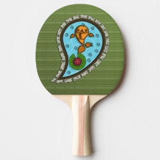 Raquette Tennis De Table Mesure la palette de ping-pong de poisson rouge