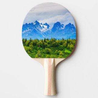 Raquette Tennis De Table Montagnes majestueuses de l'Alaska