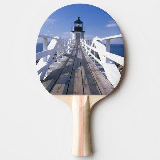 Raquette Tennis De Table Na, Etats-Unis, Maine, port Clyde.  Point 2 de