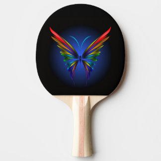 Raquette Tennis De Table Palette abstraite de ping-pong de papillon