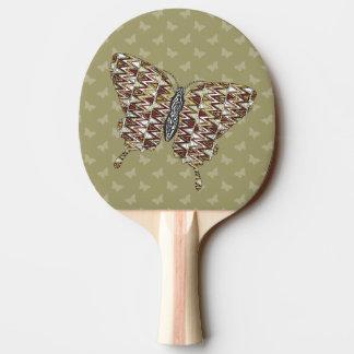 Raquette Tennis De Table Palette africaine de ping-pong de machaon