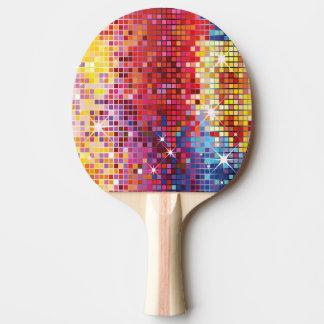 Raquette Tennis De Table Palette colorée de puanteur de Bling-Cinglement