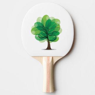 Raquette Tennis De Table Palette de ping-pong d'arbre
